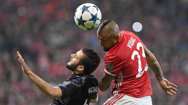 Видаль рискует пропустить 1-ый  матч с«Реалом» в ½ финала Лиги чемпионов