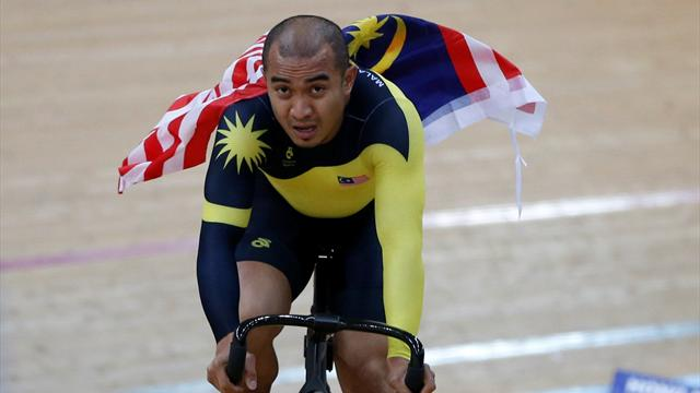 'I will sleep in this jersey' - Azizulhasni revels in Malaysia's first world track gold