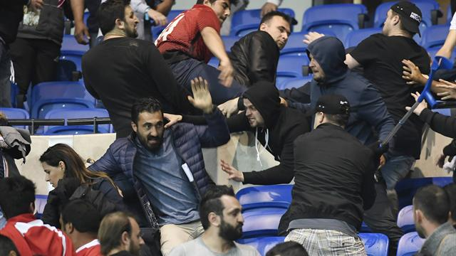 L'UEFA ouvre des procédures disciplinaires ouvertes contre Lyon et Besiktas