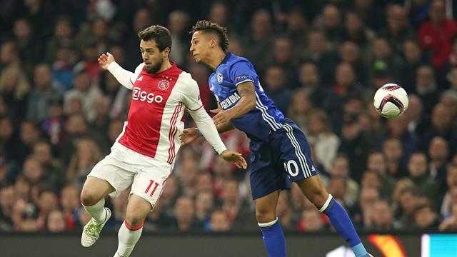 Lo Schalke 04 fa harakiri: l'Ajax in 10 contro 11 si qualifica alle semifinali di Europa League