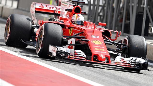 Vettel in testa dopo le prime libere, Hamilton 10°. Problemi per Raikkonen