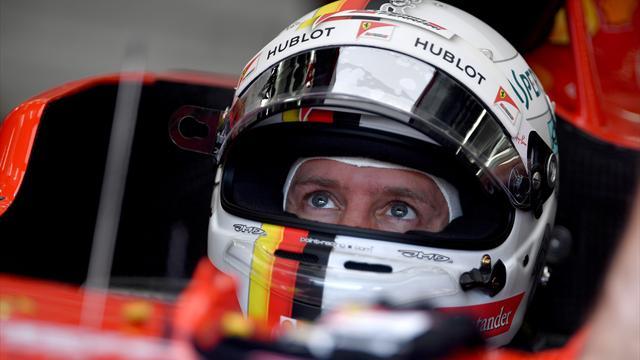 """Vettel : """"Quatre dixièmes d'écart, c'est décevant"""""""