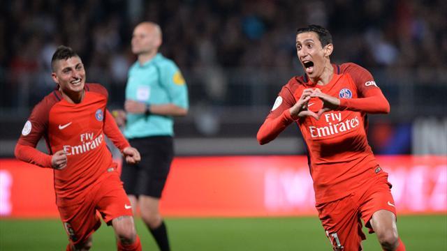Sans la maîtrise, Paris s'en est remis à Di Maria pour revenir sur Monaco
