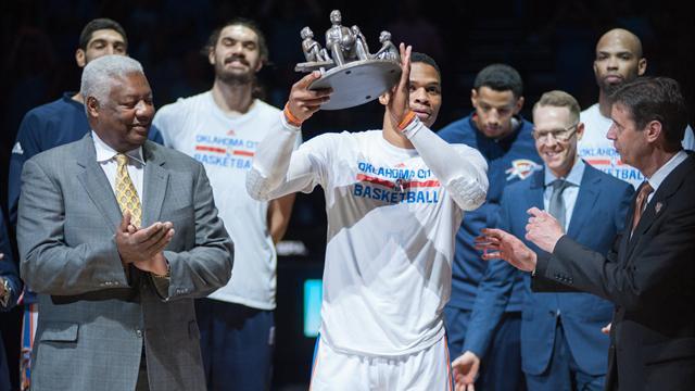 """I Thunder omaggiano Westbrook con un video molto emozionante: """"I campioni cambiano la storia"""""""