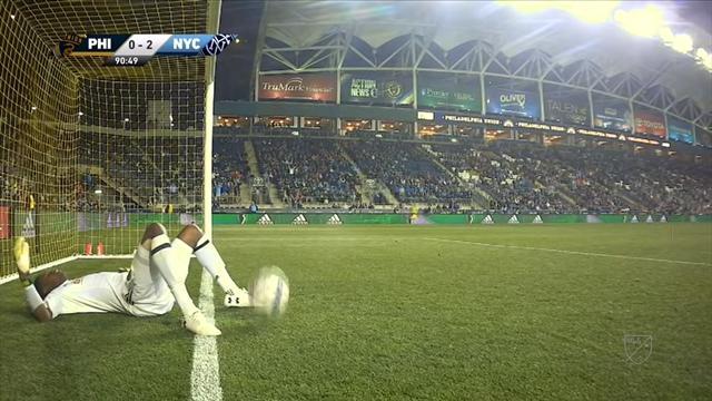 David Villa hace un gol con el NYC FC ¡Desde media cancha!