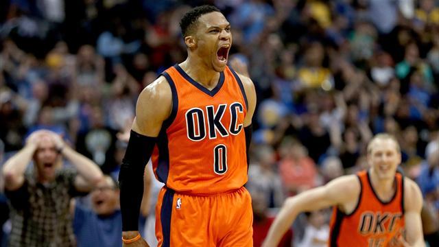 Après le titre de MVP, Westbrook élu meilleur joueur de la saison par ses pairs