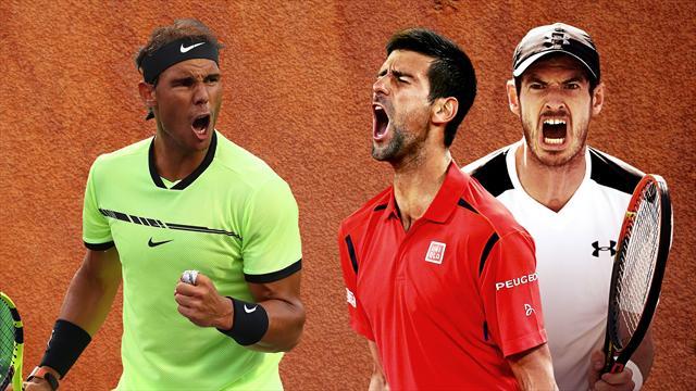 Masters 1.000 de Montecarlo: Sin Federer pero con Nadal, Djokovic y  Murray