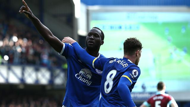 Koeman wants 'improved' top scorer Lukaku to stay at Everton