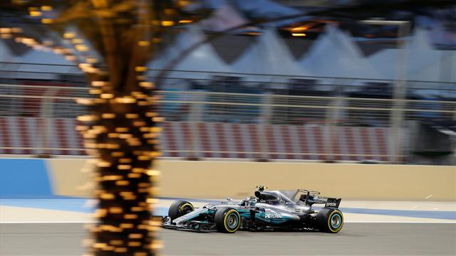 Bahrain Grand Prix qualifying: Maiden pole for Bottas, no power for Alonso