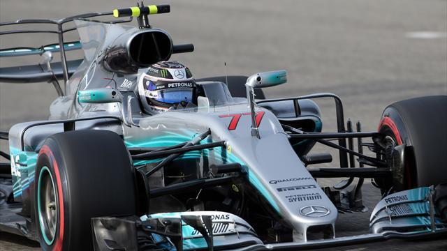 Record della pista per Bottas: prima pole in carriera e prima fila tutta Mercedes