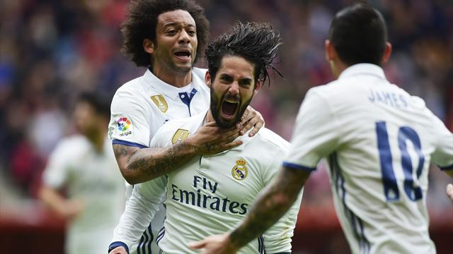 Isco showstopper gives Real Madrid dramatic win at Sporting