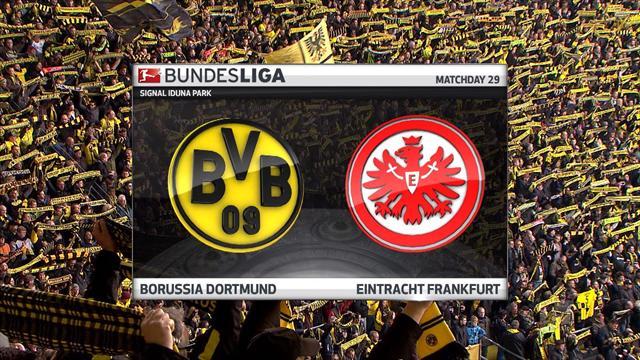 Høydepunkter : Dortmund - Frankfurt