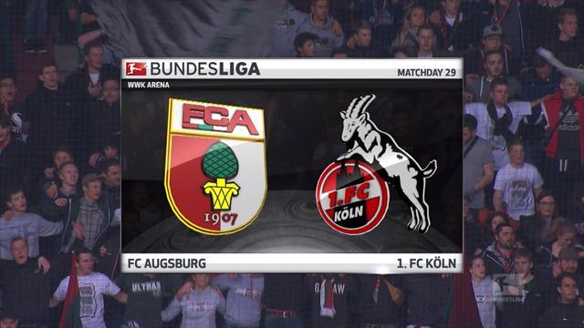 Høydepunkter: Augsburg - Köln
