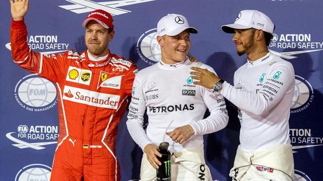 Bottas bate a Hamilton en Baréin y logra su primera 'pole' en la Fórmula Uno