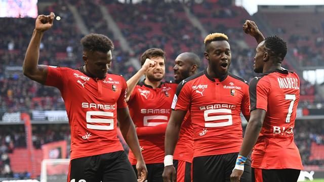 Ligue 1, 33e journée : Rennes se replace, Guingamp et Montpellier respirent