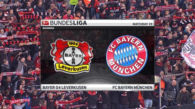 Høydepunkter: Bayer Leverkusen - Bayern München