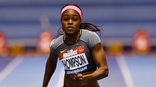 Thompson reste impériale sur 100m