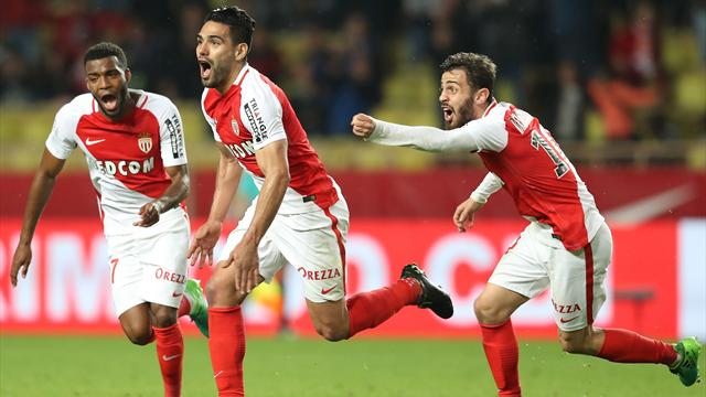 Monaco come from behind to beat Dijon, Nice reach Champions League