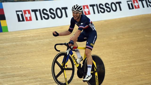 Et de trois médailles d'or pour la France : Thomas et Kneisky remportent l'américaine