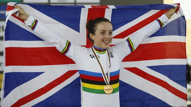 Barker no longer bridesmaid as GB finish worlds fourth