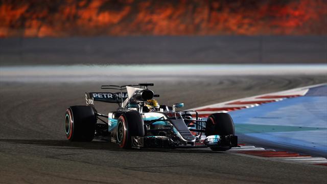 Test Bahrain: Hamilton è il più veloce davanti alla Ferrari di Giovinazzi