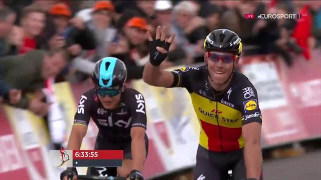 Amstel Gold Race 2017: Sigue la maldición de Valverde en la cuarta victoria de Gilbert