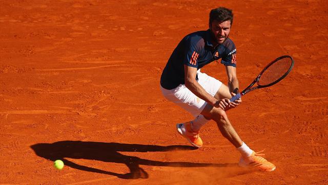 Novak Djokovic a eu chaud contre Gilles Simon — Monte-Carlo