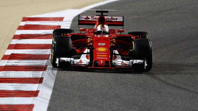 Vettel beats Hamilton in Bahrain as Ferrari's revival continues