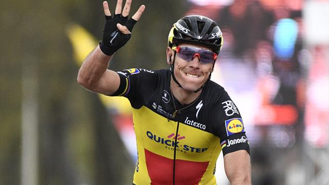 Belgier Gilbert gewinnt zum vierten Mal Amstel Gold Race