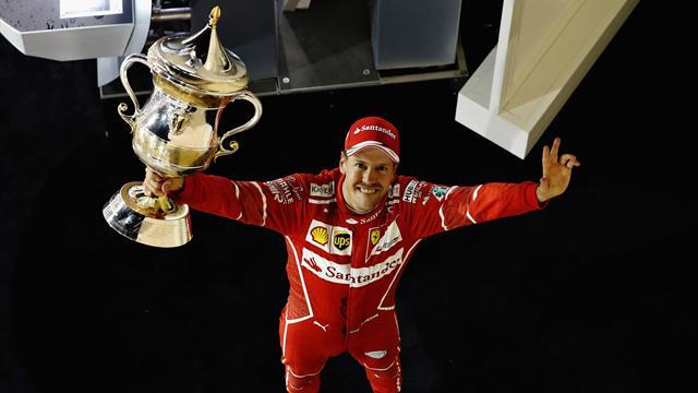 Bahrain Grand Prix: Vettel victorious, Hamilton hampered