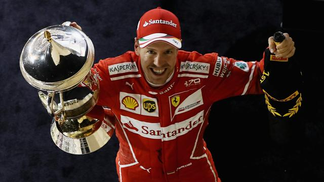 """Vettel: """"Buona Pasqua, grazie mille! La macchina è stata un piacere!"""""""
