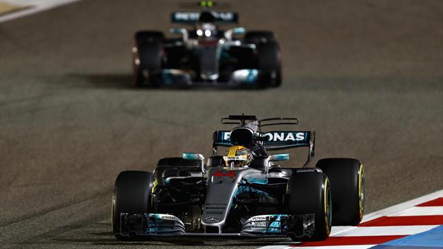 Mercedes dominiert - Vettel nur Trainingsvierter