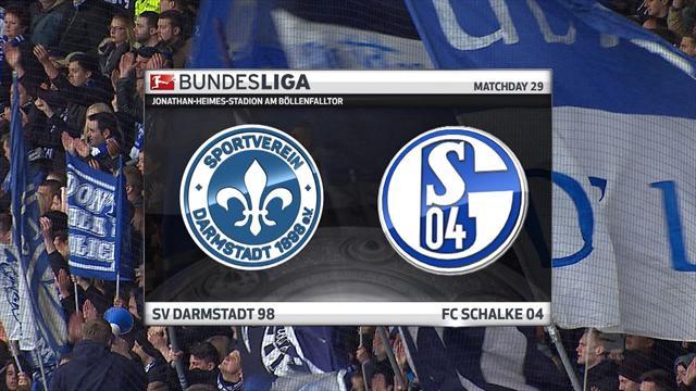 Høydepunkter: Darmstadt - Schalke