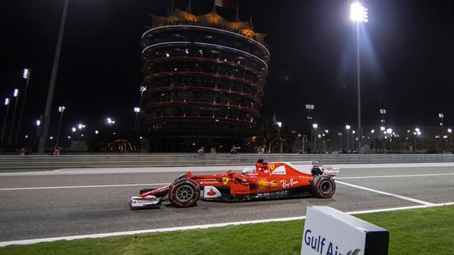 """Vettel: """"Meternos entre los Mercedes en la salida fue la clave"""""""