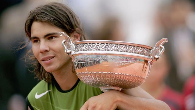 2005, l'année où tout a commencé à Paris pour Nadal