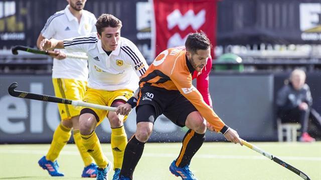 2-0. El Atlètic de Terrassa cae en cuartos de la Euroliga de Hockey ante el Oranje-Rood holandés