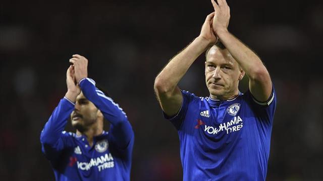 El Chelsea anuncia que Terry dejará el club a final de temporada