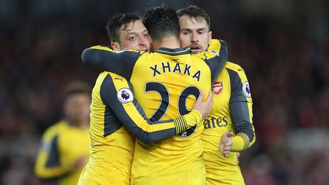 Arsenal s'en tire bien et peut encore y croire