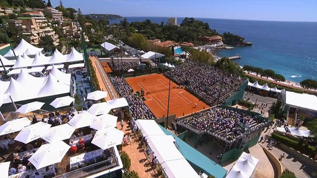 ROLEX MINUTE: Pablo Carreno downs Fabio Fognini in Monte Carlo