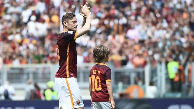 Like father, like son: 11-year-old Totti Jr wins golden boot for Roma