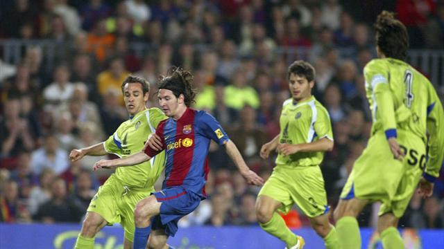 11 anni fa Lionel Messi contro il Getafe riproduceva il gol del secolo di Maradona