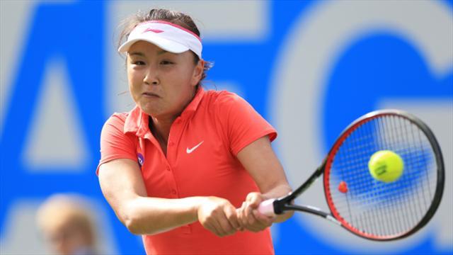 Top seeds sail through Biyuan Cup Zhengzhou Women's Tennis Open first round