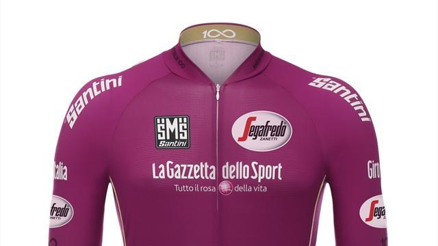 Giro 100: torna la storica maglia ciclamino per la classifica a punti