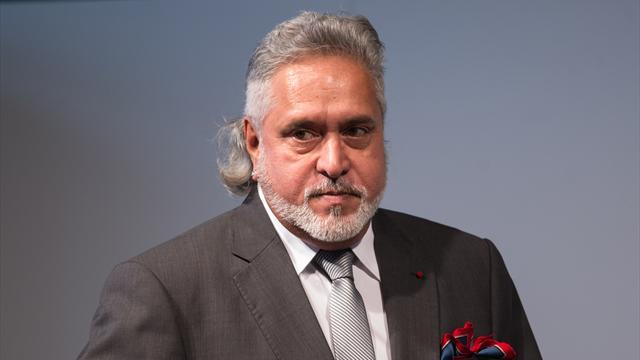 Force-India-Teamchef Mallya verhaftet