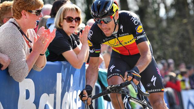 Gilbert auch nicht beim Giro am Start