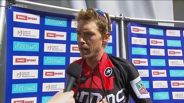 Tour of the Alps: Dennis im Siegerinterview nach der 2. Etappe