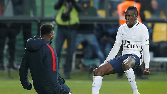 Last-gasp Matuidi goal earns PSG 3-2 win at Metz