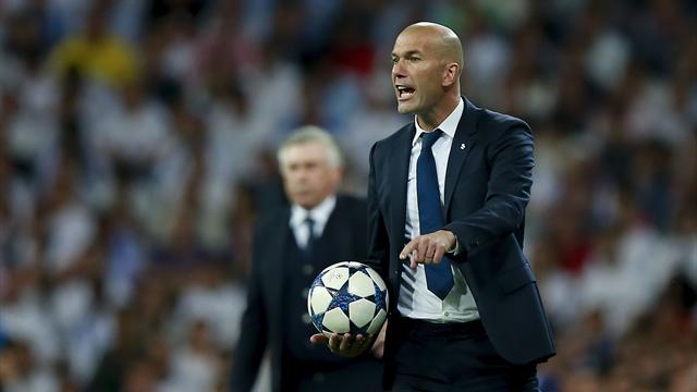 "Zidane : ""Quand on met six buts en deux matches, on mérite de passer tranquillement"""