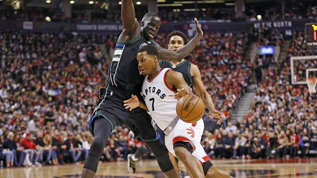 La giocata della notte: Kyle Lowry riporta Toronto in superficie