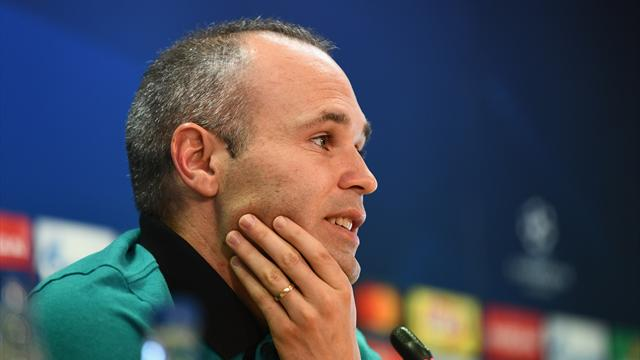 Iniesta appeals for dialogue over Catalonia crisis